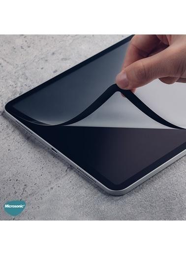 Microsonic Microsonic Apple iPad Air 4. Nesil A2316A2324A2325A2072 Tam Kaplayan Tablet Ekran Koruyucu Siyah